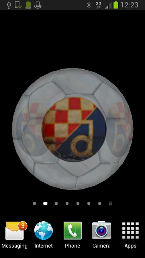 Ball 3D Dinamo Zagreb LWP - screenshot