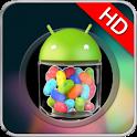 Jelly Bean HD GO Theme