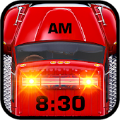 Fire Truck Alarm Clock