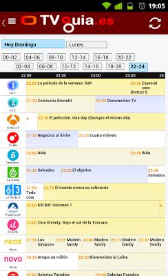 TV Guia Es - Programación TV - screenshot