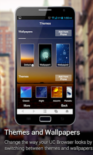 UC Browser for X86 Phones - screenshot thumbnail