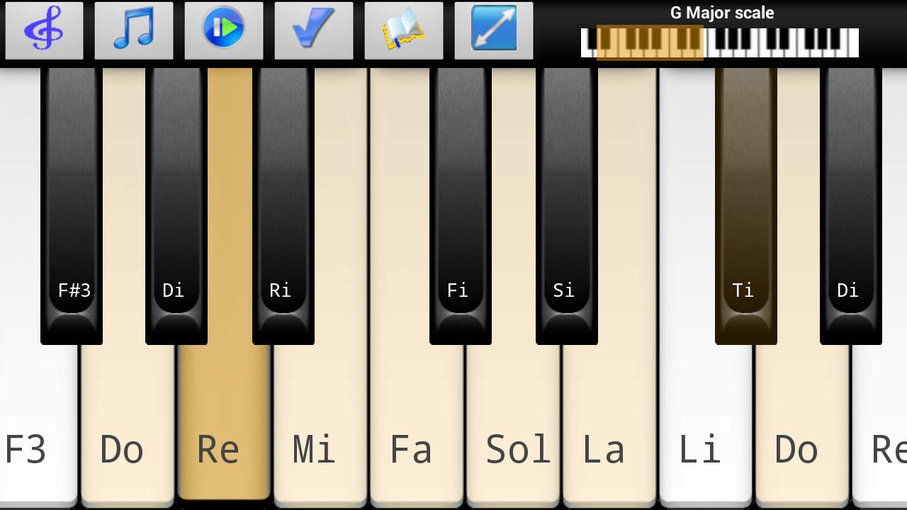Piano Scales Chords Jam Free - screenshot