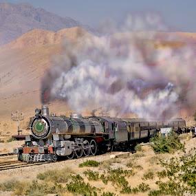 Train to Quetta by Agha Ahmed - Transportation Trains ( pakistan, railway, steam train, railroad, train, travel, steam )