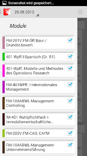 HWR Berlin Stundenplan FBII- screenshot thumbnail