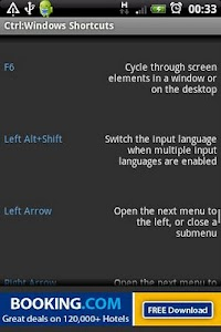 Ctrl: Windows Shortcut Keys screenshot 1