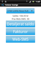 Telenor Sverige - screenshot thumbnail