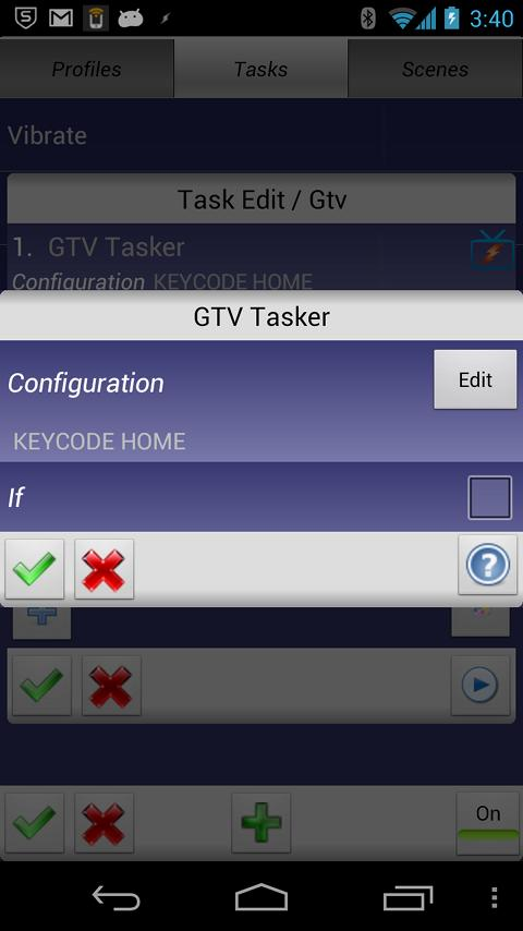 GTV Tasker Plugin- screenshot
