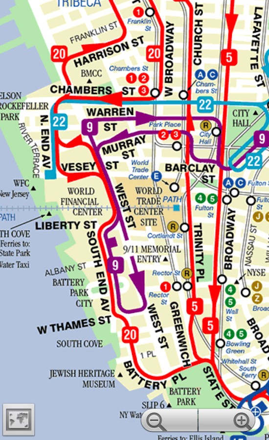 New York City Map Attractions Pdf – New York City Tourist Map PDF