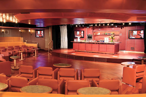 Holland-America-Vista-Class-Culinary-Arts - Enhance your kitchen skills by signing up for a Culinary Arts Center demonstration kitchen on your Holland America cruise.