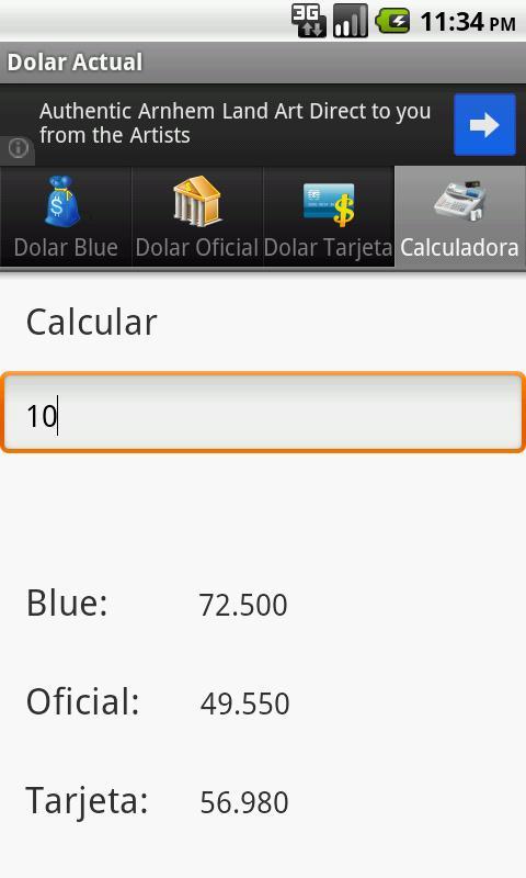 Dolar Hoy- screenshot
