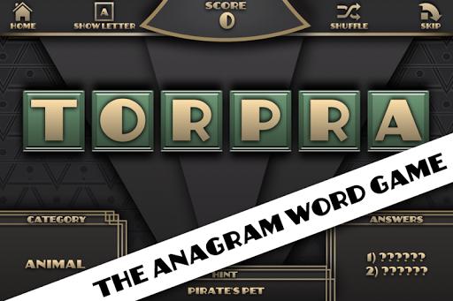 Morphos - anagram word game