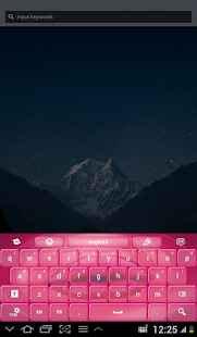Purple Bubblegum Keyboard - screenshot thumbnail