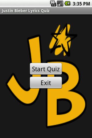 Justin Bieber Lyrics Quiz