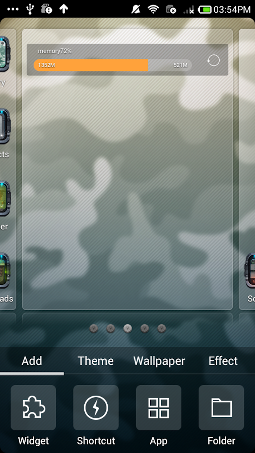 CF_Turbo Launcher  EX Theme - screenshot