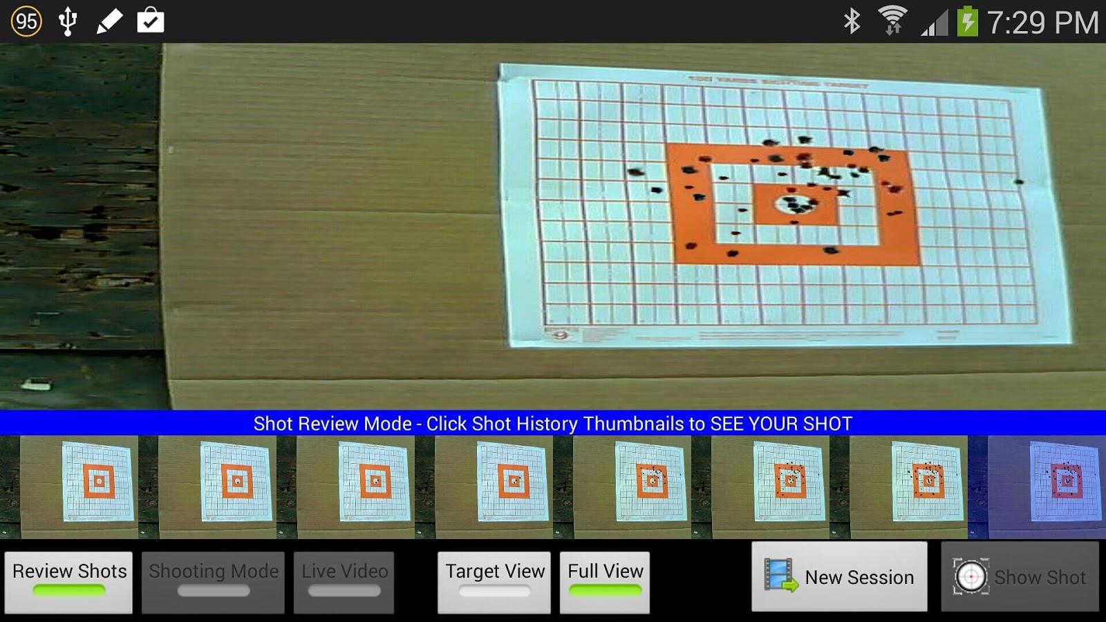 Bullseye Target Manager- screenshot