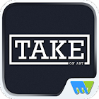 TAKE on art icon