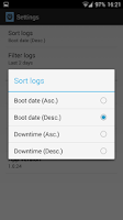 Screenshot of Boot Logs