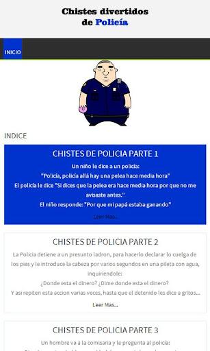 Chistes divertidos de Policías
