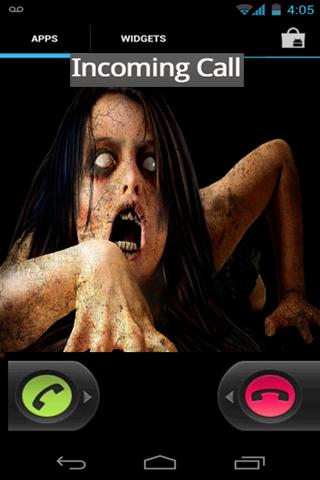 挺吓人的恶作剧电话