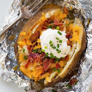 "Slow-Cooker ""Baked"" Potatoes"