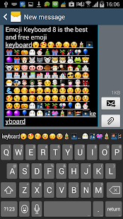 Emoji Keyboard 8 - Smart Free - screenshot thumbnail