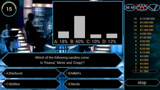 Millionaire Quiz Free: Be Rich 2.5.1 screenshots 6