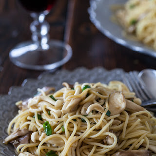 Garlic Noodles with Miso Butter