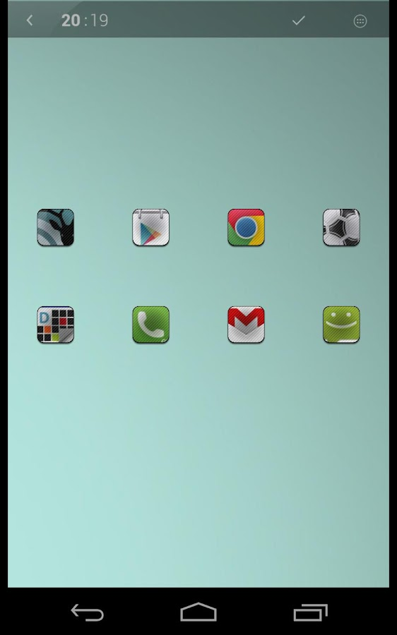 Stickers icon theme - screenshot