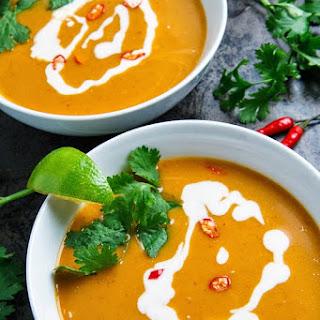 Thai Pumpkin Soup.