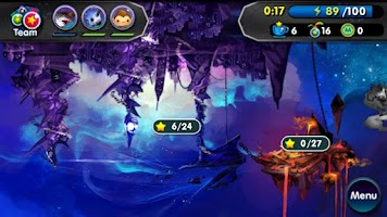 Screenshot of Monster Galaxy Exile