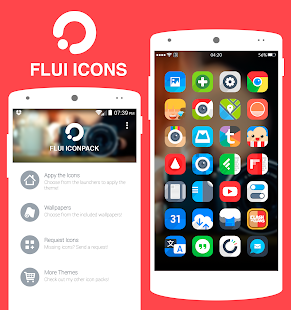 Flui iOs - icon pack