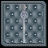 Gray Diamond Zipper Lock