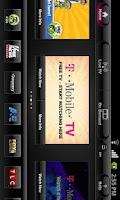 Screenshot of T-Mobile TV for Tablets