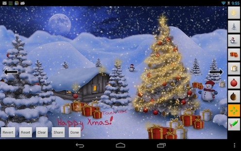 Winter Land Live Wallpaper Pro - screenshot thumbnail