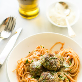 Kale Sneak in Meatballs