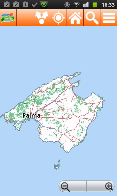Mallorca Offline mappa Map- screenshot