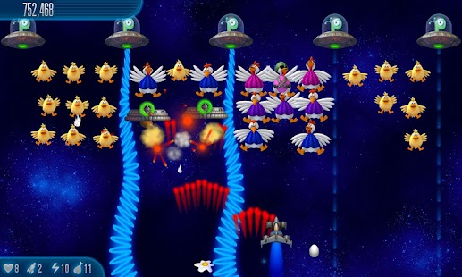 Chicken Invaders 5- screenshot thumbnail