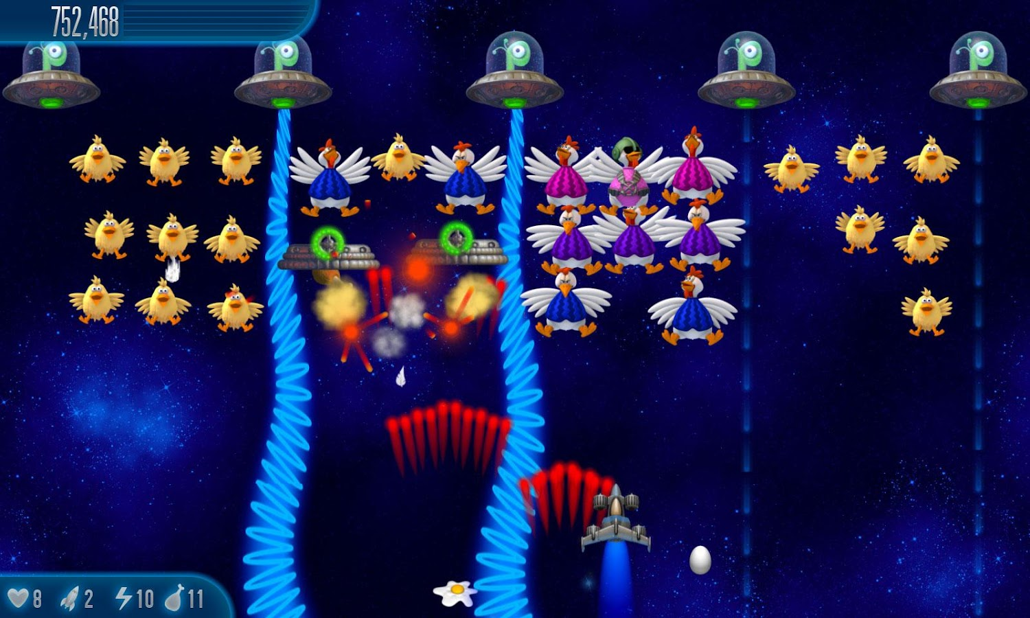 Chicken Invaders 5 - screenshot