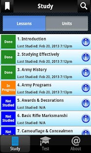 PROmote - Army Study Guide - screenshot thumbnail