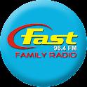 Fast 96.4 FM logo