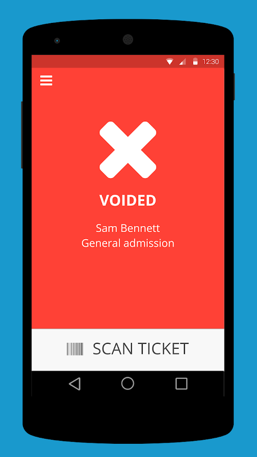 ticket scanner
