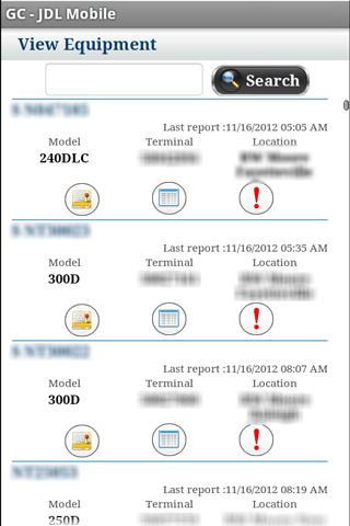 GC – JDL Mobile - screenshot