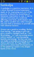Screenshot of Deeply Relax - Yoga Nidra Lite
