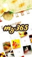 Screenshot of My365-photo calendar/diary app