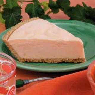 Frozen Orange Cream Pie