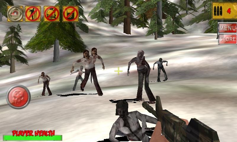3D Hunting: Zombies - screenshot