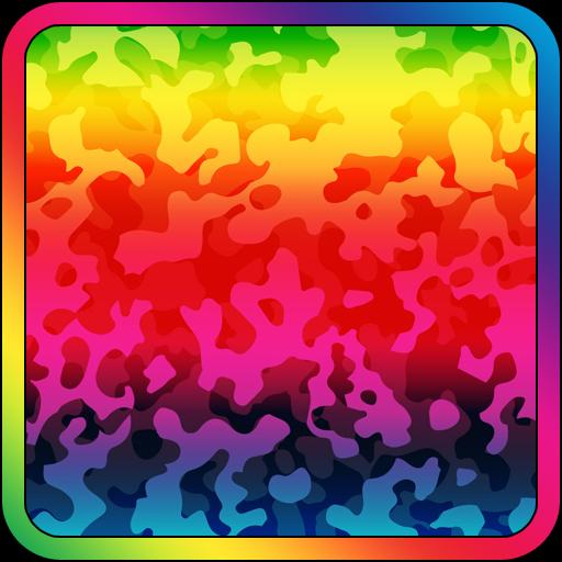 プライド虹迷彩 個人化 App LOGO-硬是要APP