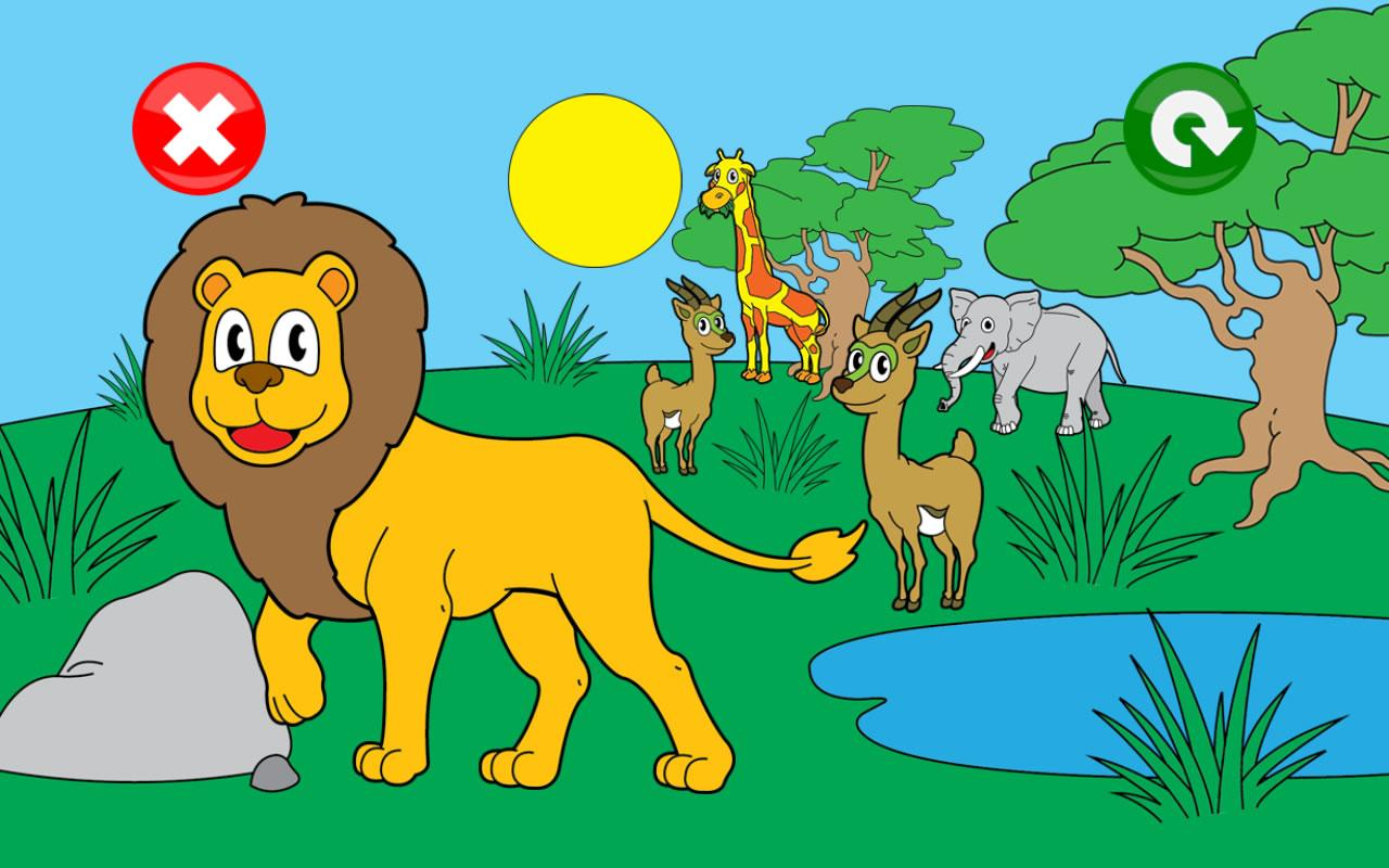 Joey's Animal Puzzles for Kids- screenshot