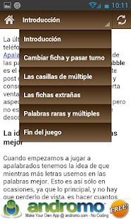 Consejos para Apalabrados- screenshot thumbnail