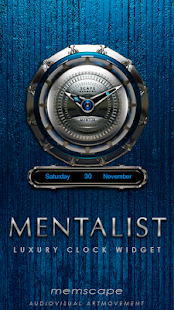 Free MENTALIST Luxury Clock Widget APK